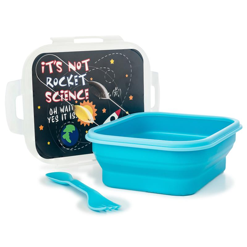 It's Not Rocket Science Collapsible Lunch Box,NOT ROCKET SCIENCE,NOV308 DOM
