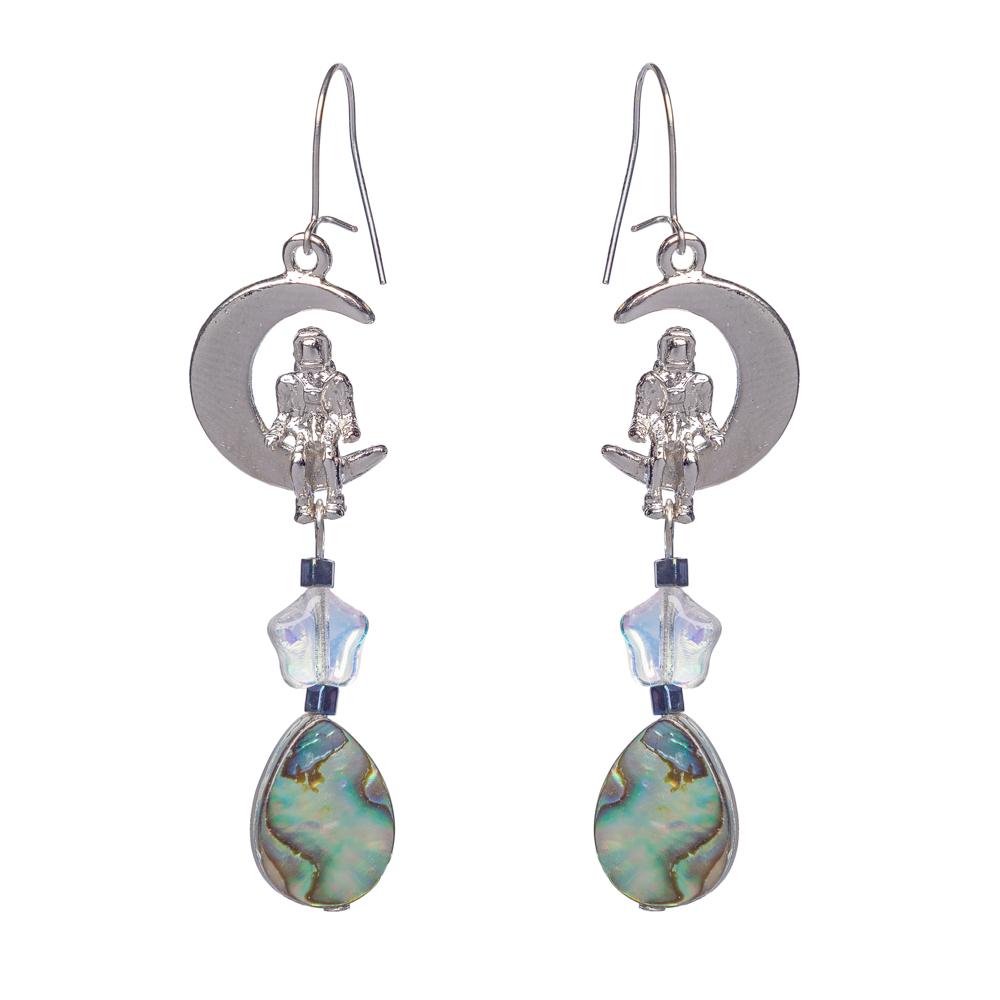Earrings - Astronaut,8511810