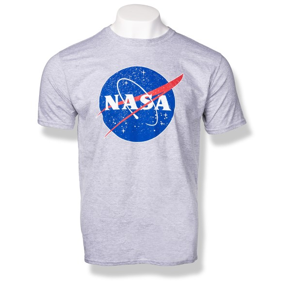 NASA Logo Distressed Tee - Unisex,NASA,S80873-6400