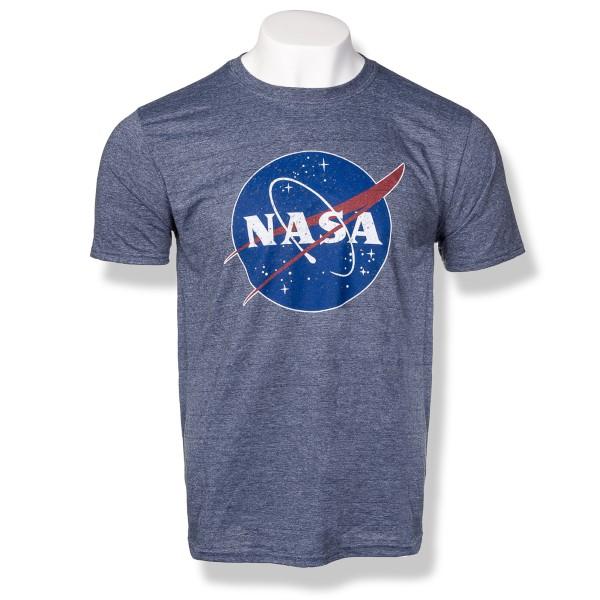 NASA Logo Distressed Tee - Unisex,NASA,S80873-6400