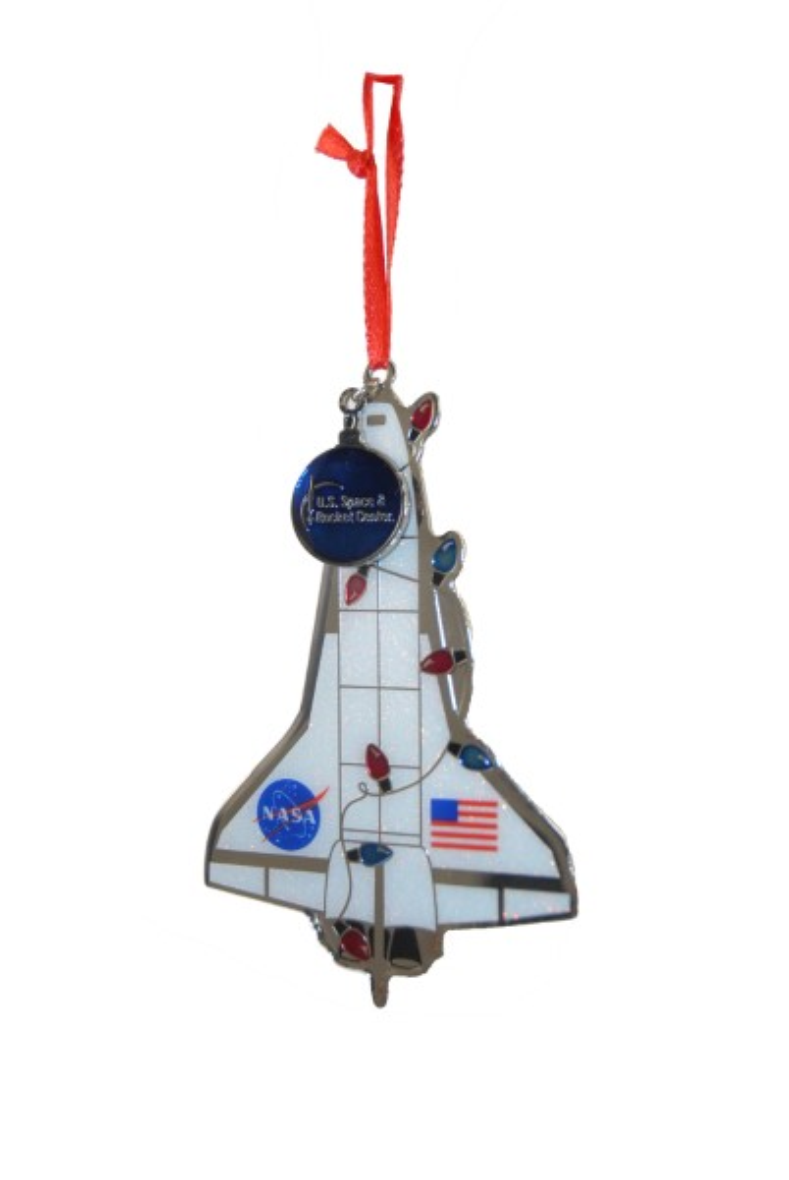 Shuttle Iridescent Ornament,NASA,13-81-043-013