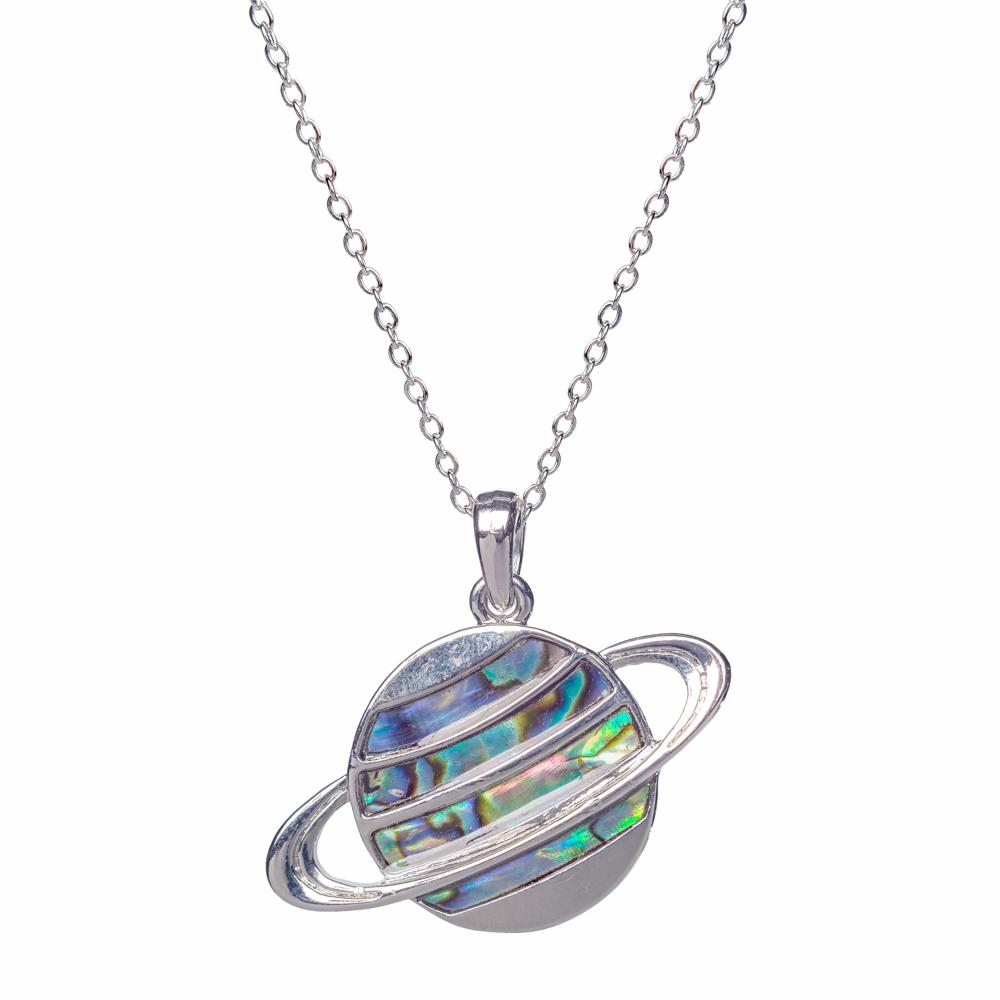 Necklace - Saturn,8521248