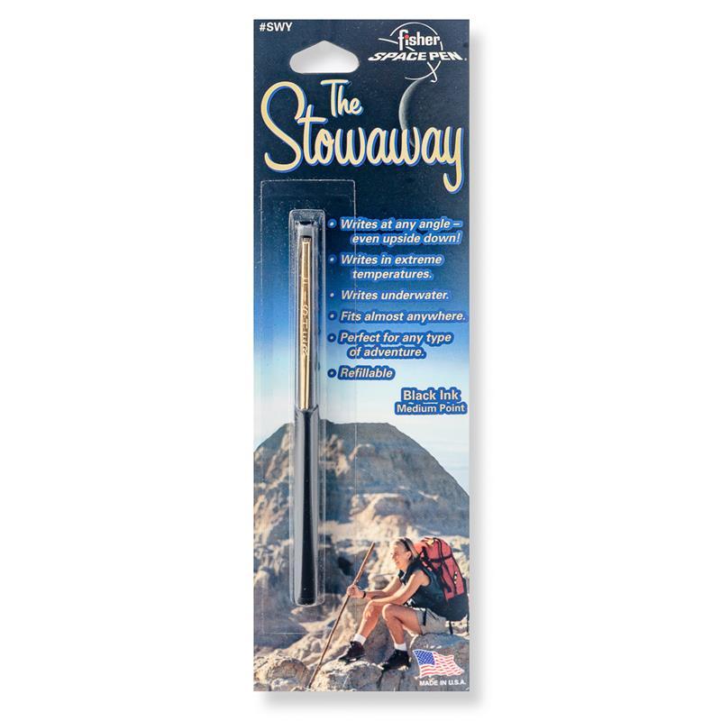 Stowaway Space Pen w/Clip,SWY/C