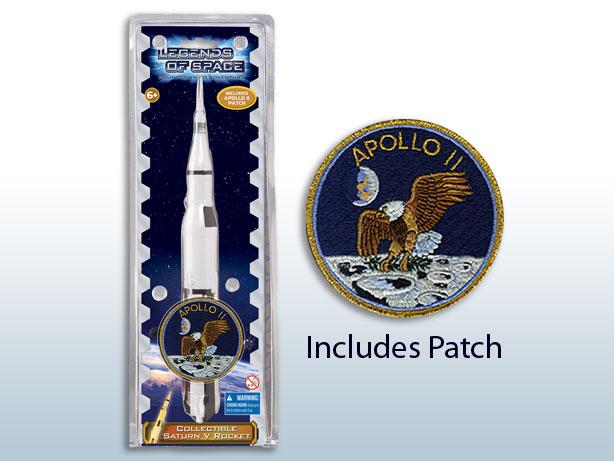 Saturn V Rocket w/Patch,002