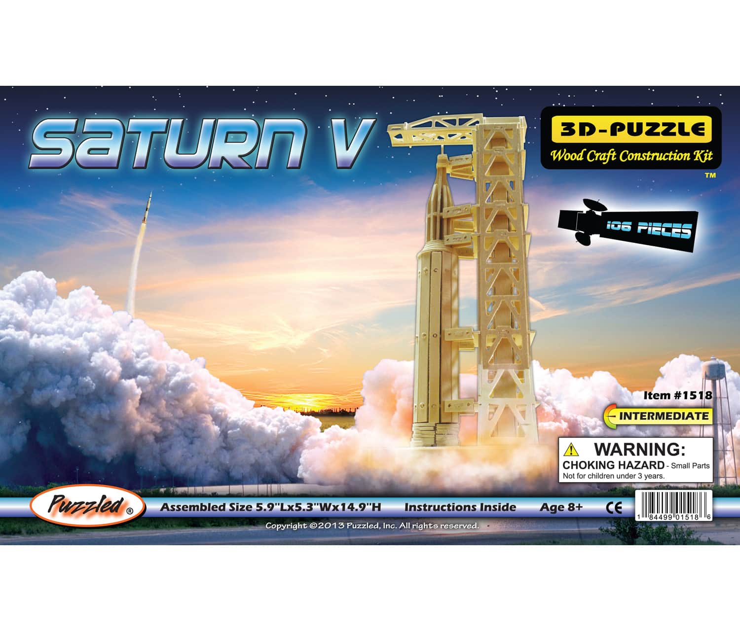Saturn V 3D Puzzle,1518