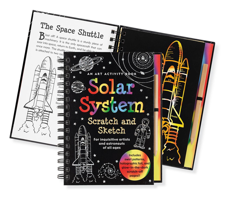 Solar System  Scratch & Sketch,9171