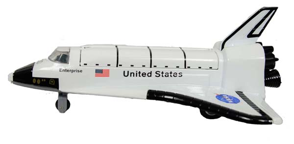 "8"" Pullback Space Shuttle,IN-TSSE"