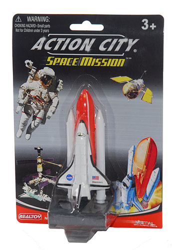 Die Cast Space Shuttle Toy,RT38141