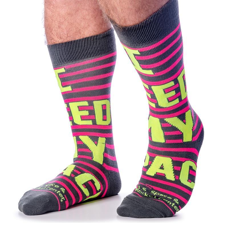 Need Space Stripe Socks,505-7