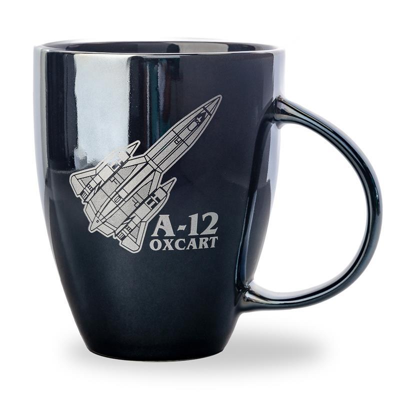 Oxcart Mug (A-12 Blackbird),A-12 OXCART,CER670 DOM