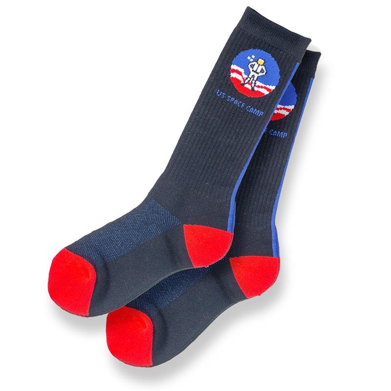 Space Camp Vertical Stripe Socks,SPACECAMP,574