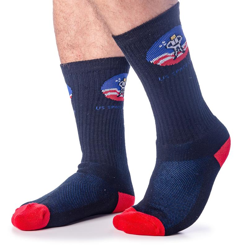 Space Camp Vertical Stripe Socks,SPACECAMP,574
