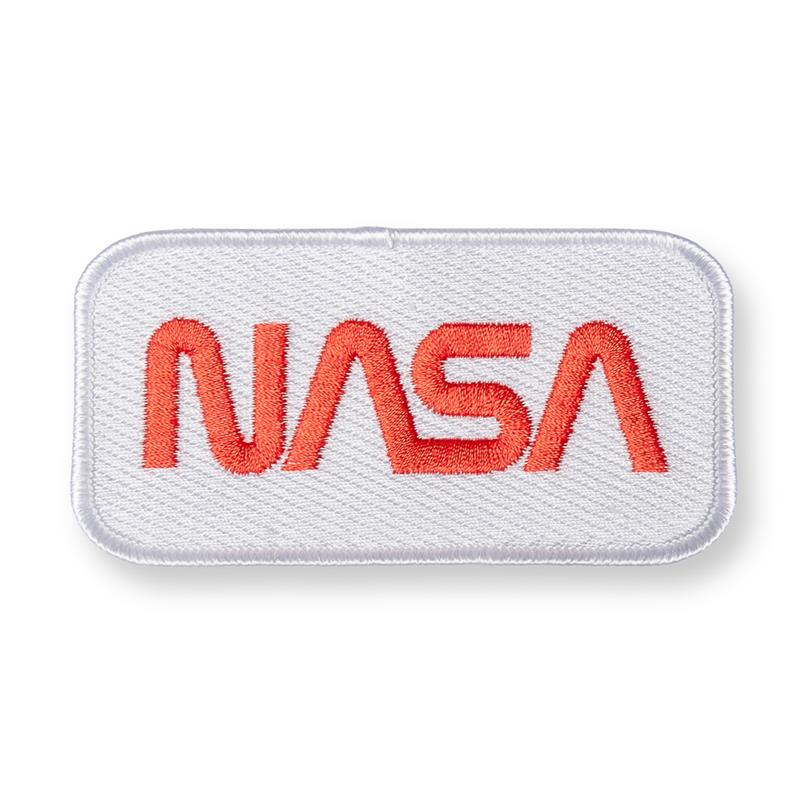 NASA Worm White/Red,NASA,57847