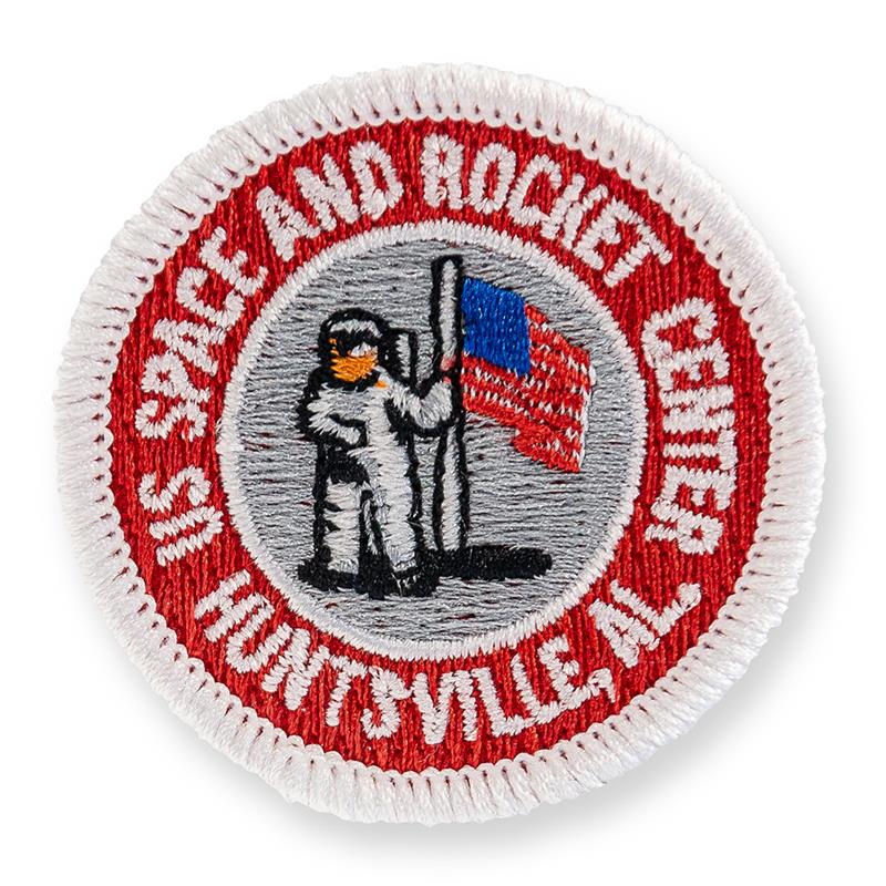 Astronaut & Flag Patch,I7421